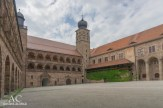 Der Innenhof der Plassenburg