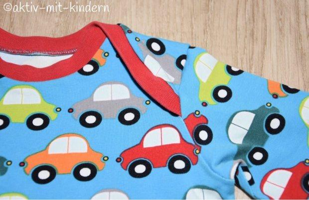 Babyshirt von Klimperklein mit Autos