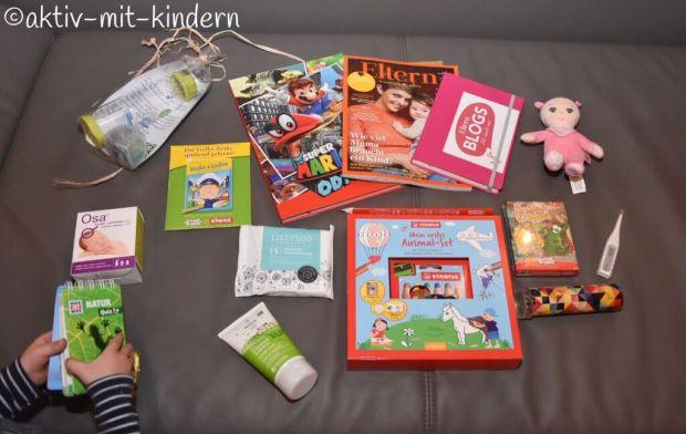 Elternbloggerkonferenz Familycon Mannheim Goodie Bags Sponsoren