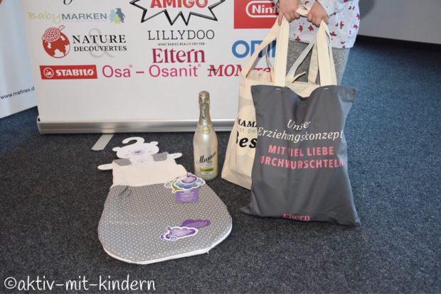 Mafinex Mannheim Elternbloggerkonferenz Familycon Goodie Bags Sponsoren
