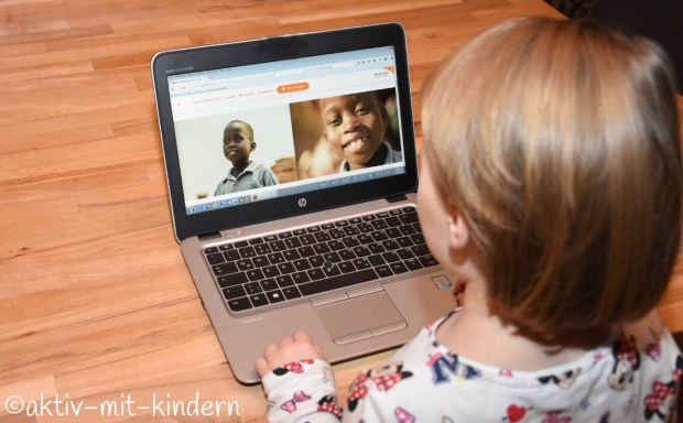 Ein Patenkind via World Vision