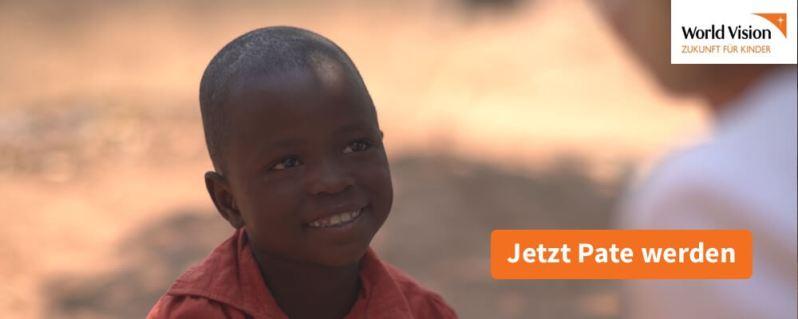 Eine Patenschaft übernehmen für ein Kind mit World Vision