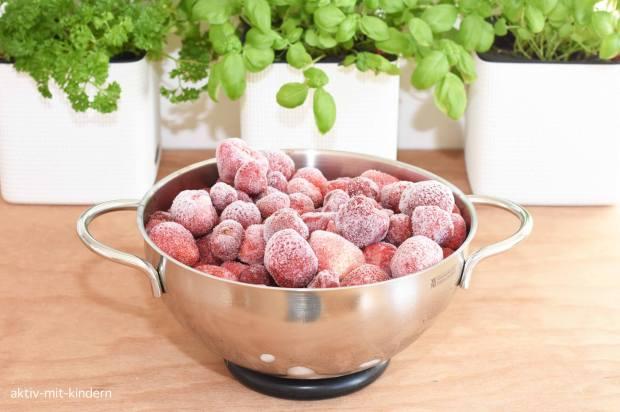 Tiefkühl Erdbeeren