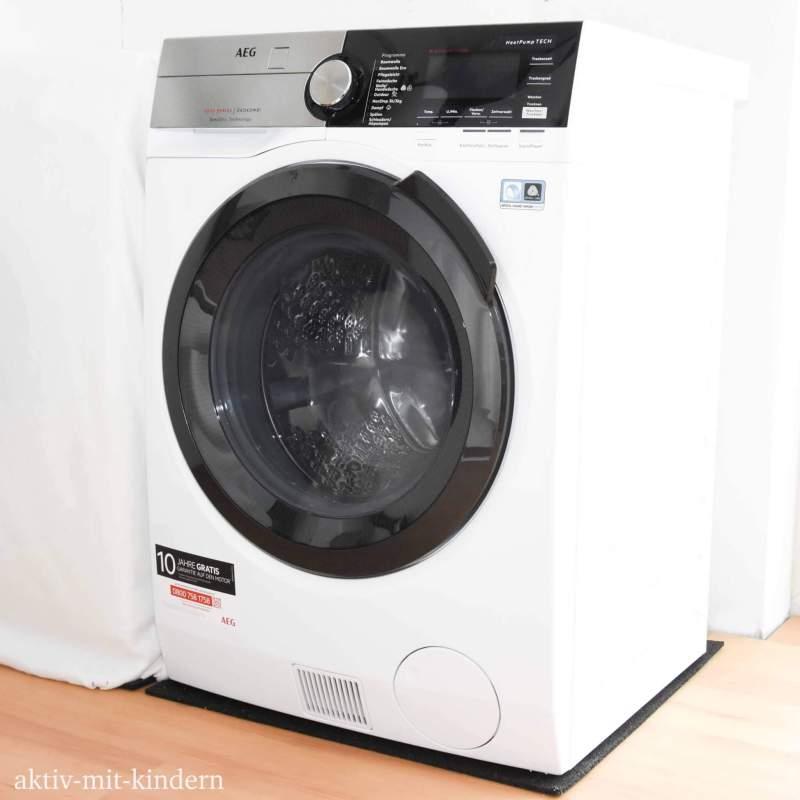 Des Weiteren Besitzt Der Waschtrockner L9WE86605 Eine XXL ProTex Schontrommel Mit Grosser Einfulloffnung Ein Grosses LED Display Sowie Intuitives