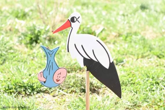 Da der Storch keine Babys bringt muss man zur Geburt ins Geburtshaus