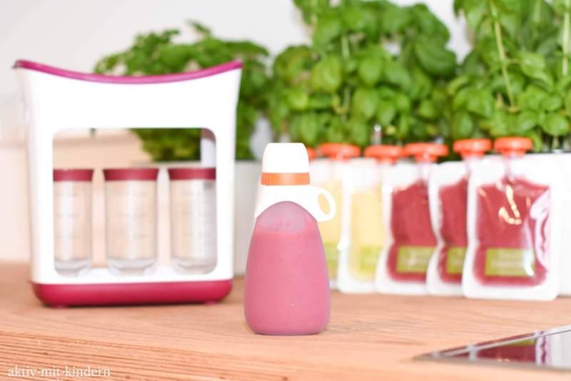 Infantino wiederverwendbare Quetschflasche