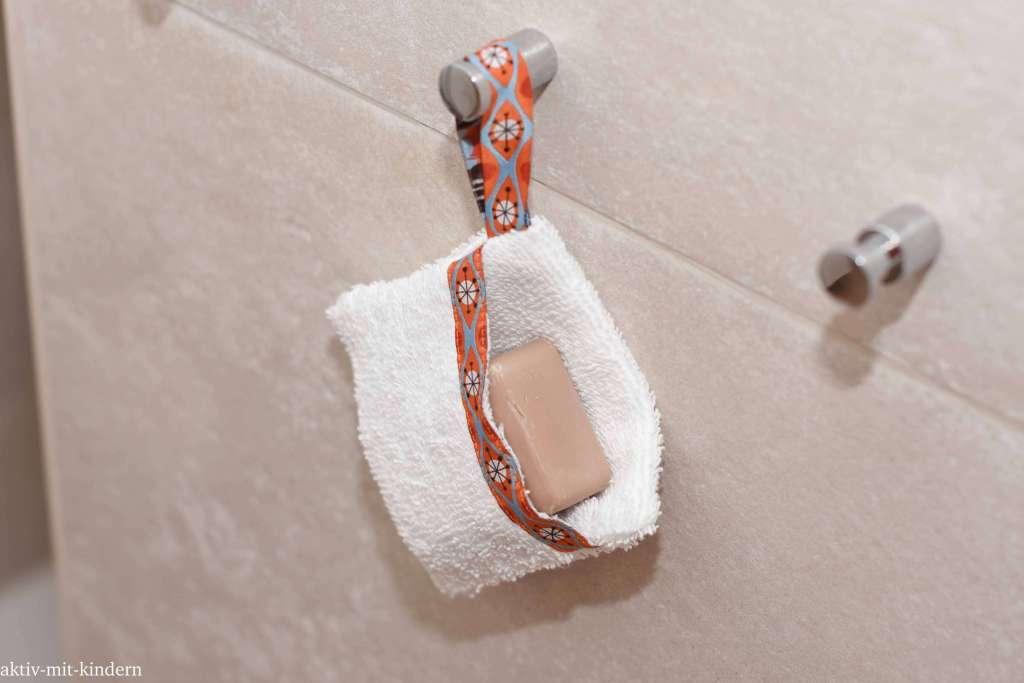 Seifensäckchen mit Seifenstück