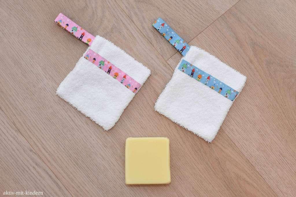 Seifensäckchen als nachhaltige Geschenkidee