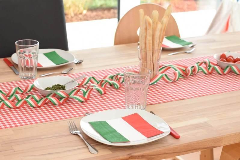 Themenabend Italien mit Pesto und Grissini