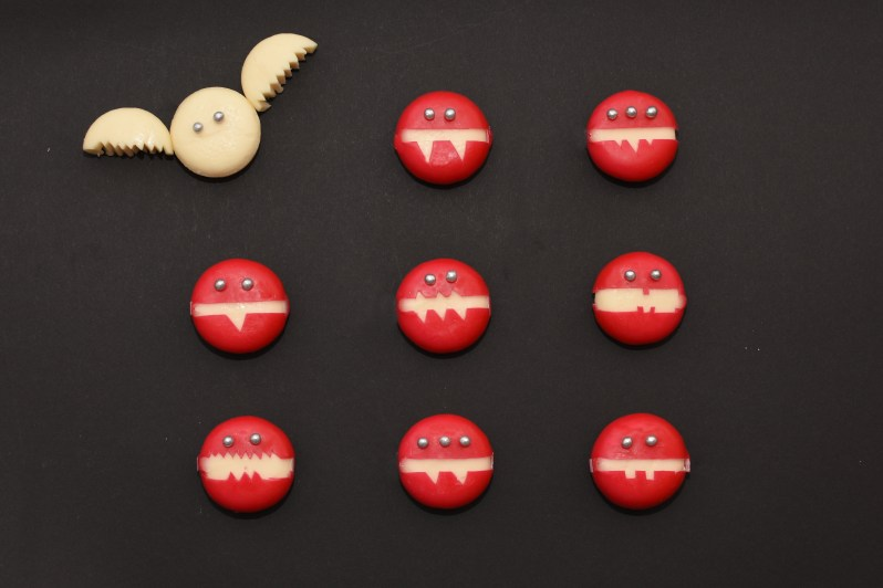Food-Idee für das Halloween-Buffet