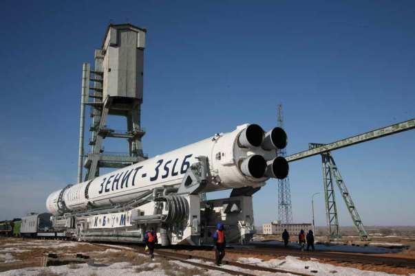 украинские ракеты-носители «Зенит»