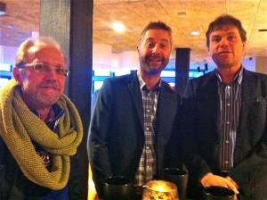 De tre glada deltagarna heter LG Nilsson, Stefan Tengman och Anders Börjesson