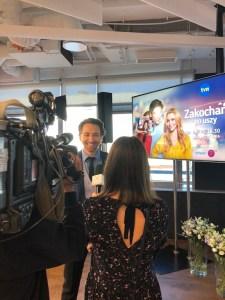 wywiady konferecja prasowa tvn aktorembyc