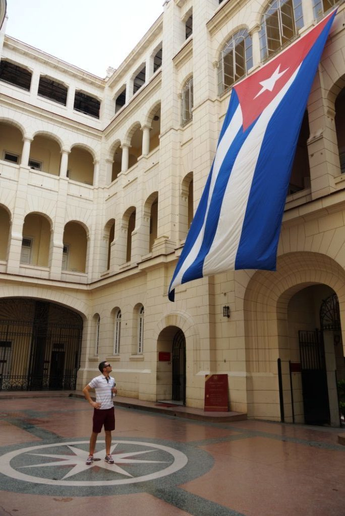Στο μουσείο της επανάστασης στην Αβάνα