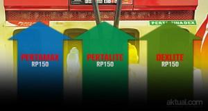 Pertamina naikkan harga bahan bakar khusus. (ilustrasi/aktual.com)
