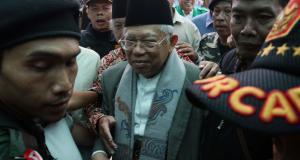Rois Syuriah Pengurus Wilayah Nahdlatul Ulama (PWNU) DKI Jakarta, Mahfudz Asirun, mengatakan silaturahmi dengan KH Ma'ruf Amin tidak ada kaitannya dengan tindakan pelecehan Basuki Tjahaja Purnama terhadap Ketua Umum MUI yang juga menjalankan amanah sebagai Rois Am PBNU itu. AKTUAL/Munzir