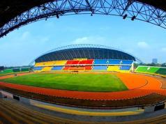 Gubernur Sumsel Herman Deru siap menjadi tuan rumah Piala Dunia U-20. Kesiapan tersebut akan dibuktikan untuk segera memoles Stadion Gelora Jakabaring, Palembang. Foto : SINDOnews/Dok