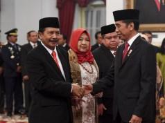 Presiden Jokowi lantik Yudian sebagai Ketua BPIP(pic.Thejakartapost)
