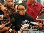 Menteri Luar Negeri Retno Marsudi menyatakan tiga WNI awak kapal pesiar Diamond Princess terinfeksi virus Corona Covid-19. Foto/Sindonews/Victor Maulana