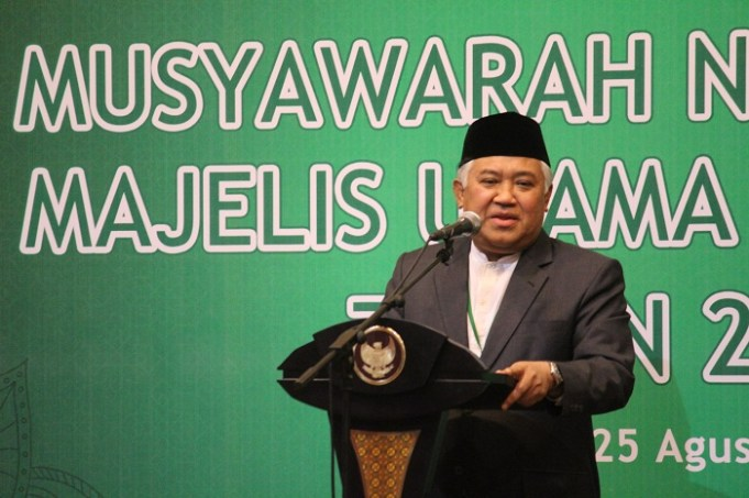 Ketua Dewan Pertimbangan MUI Prof. Dr. Din Syamsuddin