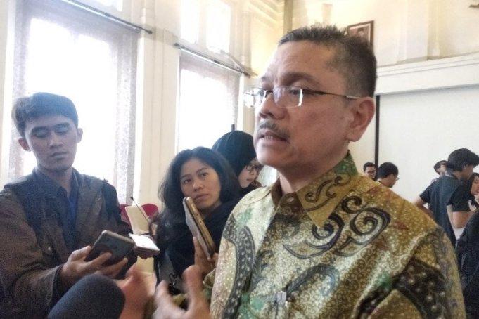 Dekan Fakultas Kedokteran Universitas Indonesia (FKUI) Prof Dr dr Ari Fahrial Syam (ANTARA/Indriani)