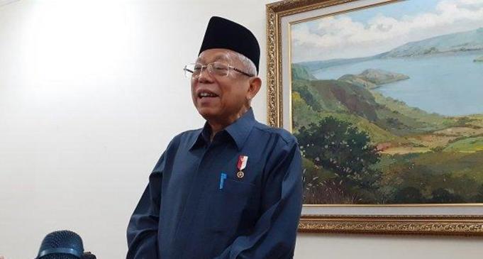 Wakil Presiden (Wapres) RI, KH Ma'ruf Amin