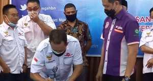 Peluncuran Program Unggulan Gumregah Bakti Nusantara di Jakarta, Selasa (27/10/2020). (Ist)