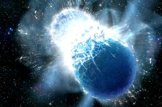 neutronic stars collide