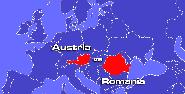 romania vs austria