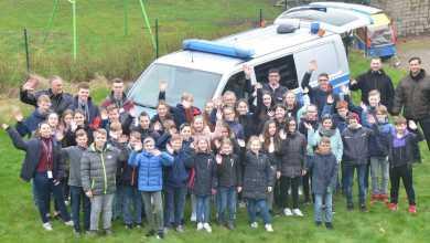 Photo of 40 Jungen und Mädchen verbringen spannenden Zukunftstag bei der Polizei