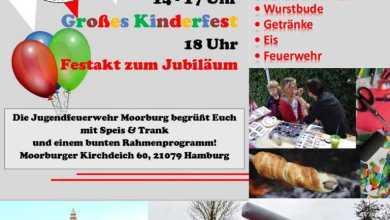 Photo of Jugendfeuerwehr Moorburg feiert 50-jähriges Jubiläum mit großem Kinderfest