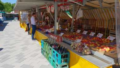 Photo of Weihnachten auf dem Wochenmarkt Neugraben