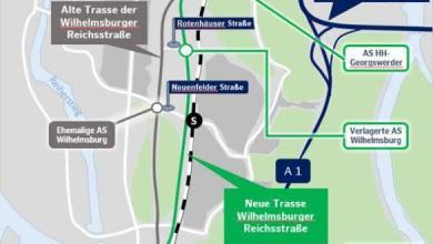 Photo of Wilhelmsburger Reichsstraße wird auf neue Trasse umgelegt