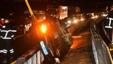 Photo of Erster großer Unfall auf der neuen Reichsstraße