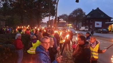 Photo of Kreativer Protest behinderte Verkehr auf der B73