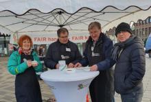 Photo of Neugraben fairändern lädt zum fairen Fruchtpunsch ein