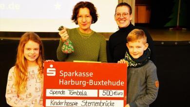 Photo of Feierliche Spendenübergabe an das Kinder-Hospiz Sternenbrücke