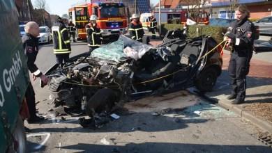 Photo of 57-jähriger Autofahrer im Alten Land schwer verletzt