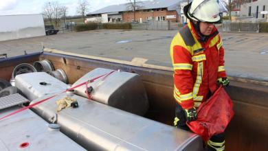 Bild von Feuerwehr bekämpft erfolgreich drohenden Umweltschaden in Meckelfeld