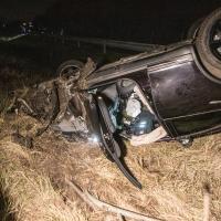 Mutmaßlicher Autodieb flüchtet nach Unfall