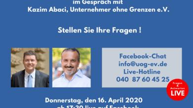 Photo of Hamburgs Finanzsenator im Gespräch mit Kazim Abaci