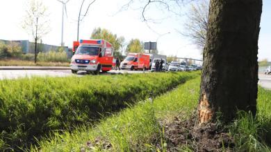 Photo of Zwei Verletzte nach schwerem Motorradunfall