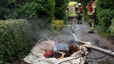 Photo of Rauchgasvergiftung bei Löschversuch