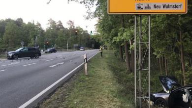Photo of Schwerer Unfall nach Überholmanöver auf B73