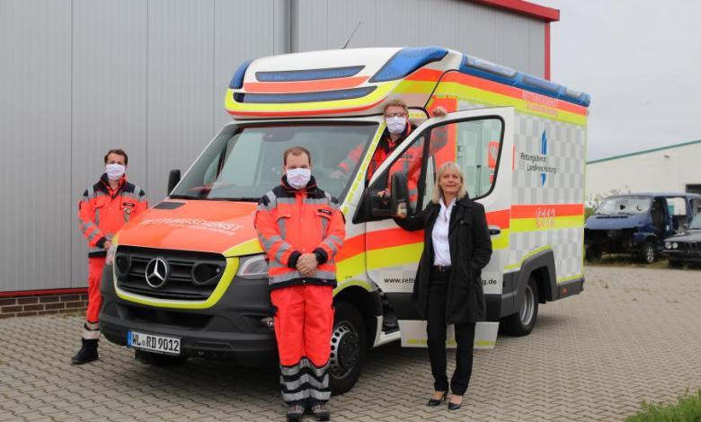 Bild von Interims-Rettungswache startet heute den Betrieb
