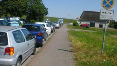 Photo of Bassenflether Strand: Zahlreiche Fahrzeuge abgeschleppt