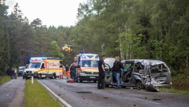 Bild von Schwerer  Unfall fordert mehrere Verletzte