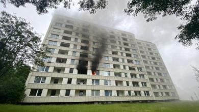 Photo of Wohnungsbrand im Hochhaus – Feuerwehr im Großeinsatz