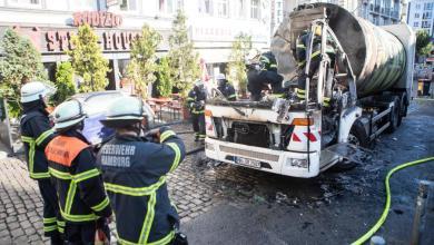 Photo of Plötzlich steht der Müllwagen in Flammen