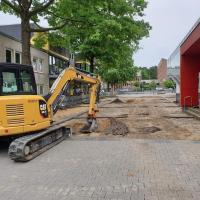 Umgestaltung der Marktpassage Neugraben beginnt